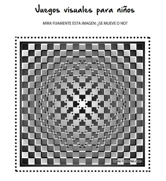 Juegos Visuales Para Ninos Blog Consejo General De Colegios De