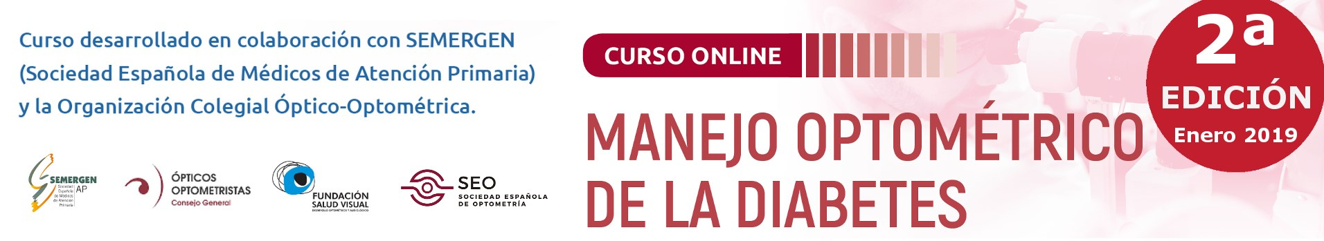 Curso Manejo optométrico de la diabetes